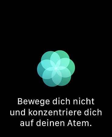 Apple Watch Atmen Übung