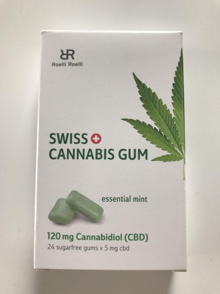 CBD Kaugummi Cannabis