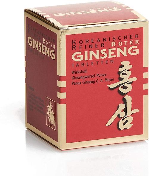 Koreanischer Ginseng