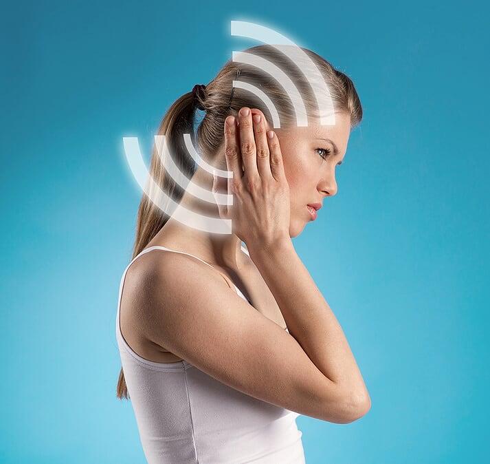 Ohrensausen Ohrgeräusche Schwindel