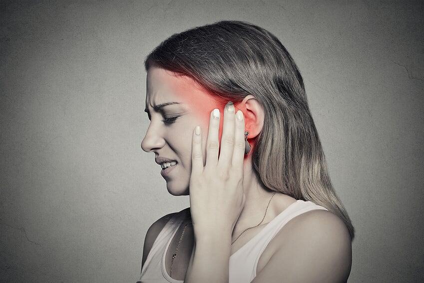 Ohrenschmerzen Schwindel