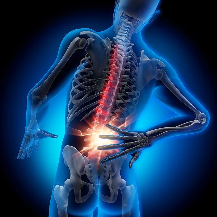 Rückenschmerzen Schwindel
