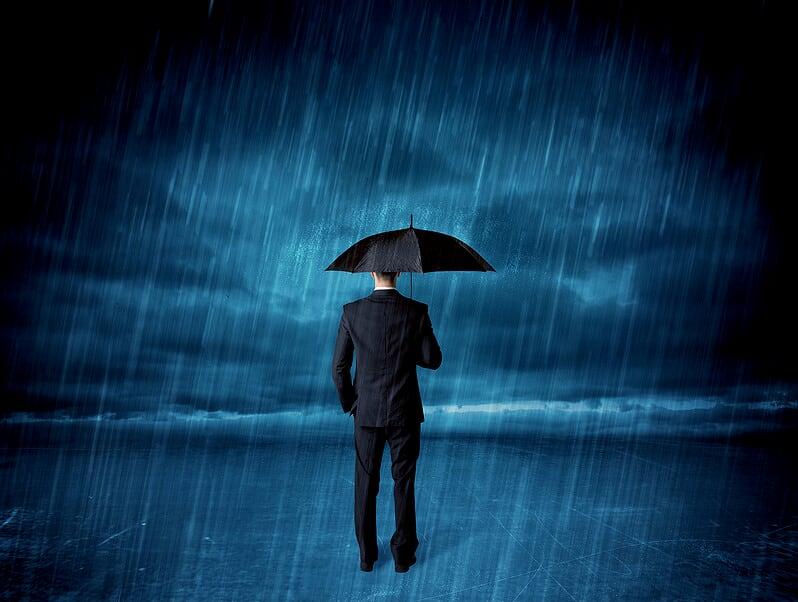 Schwindel durch Wetter